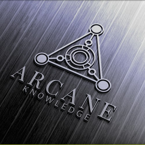 Logo for a software company Arcane Knowledge