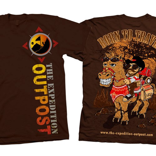 Design an awesome t-shirt for The Expedition Outpost!