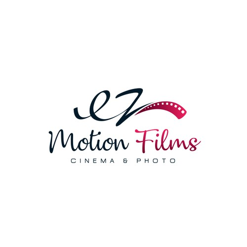 Creative logo for EZ Motion Films