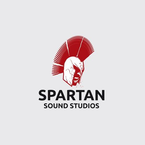logo for Spartan sound studios
