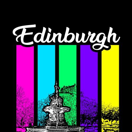 Edinburgh, Scotland T-shirt Design Project
