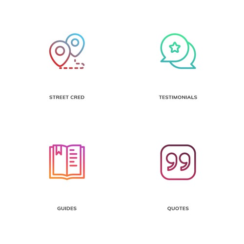 Icon Designs for Skipio