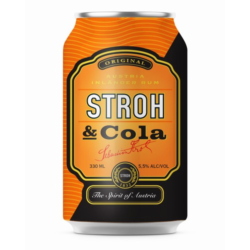 New brand for rum with cola