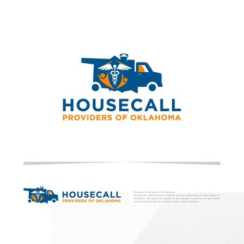 Housecall Logo Design