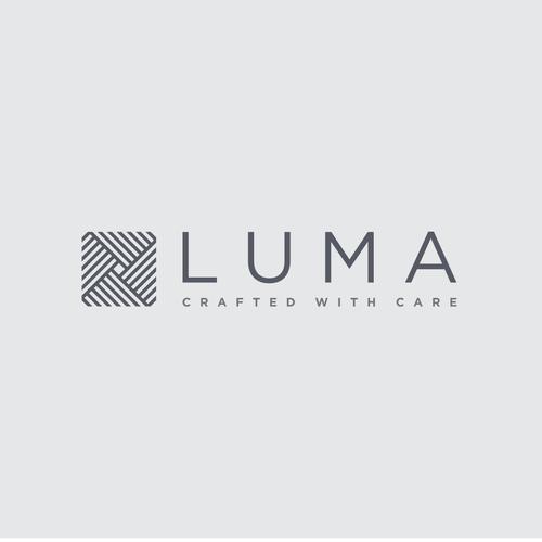Create a luxurious new logo for LUMA
