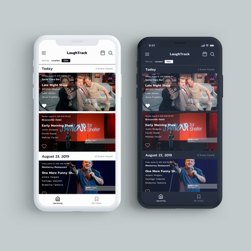 LaughTrack app