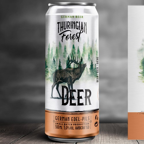 Design an attractive Beer Can