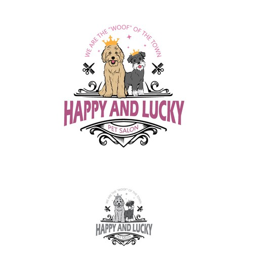 Happy and lucky