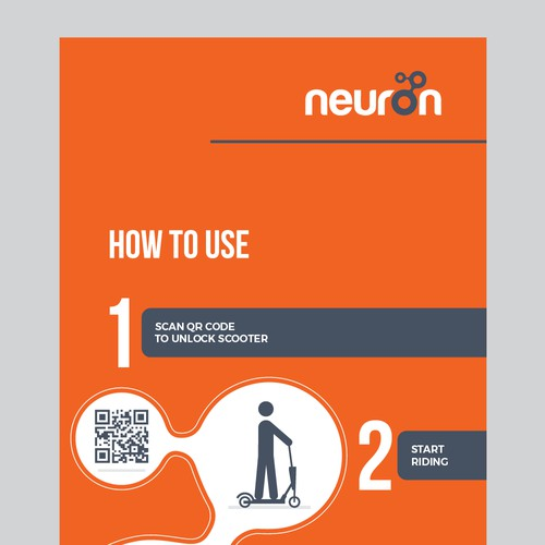 neuron signage design
