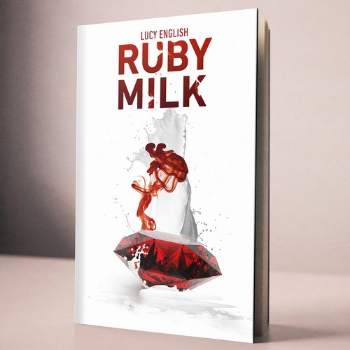 Milky book cover