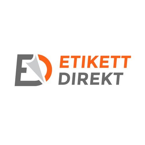 Logo design for Etikett Direkt