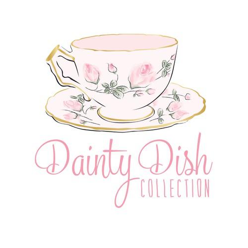 Dainty Dish logo design