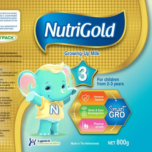 Nutrigold Mascot
