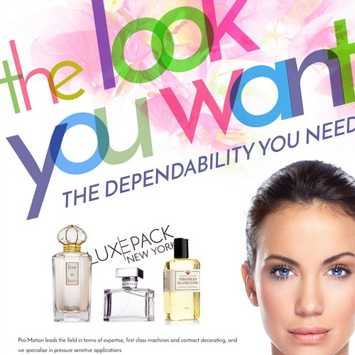 Ad for Health & Beauty Packaging Trade Magazine