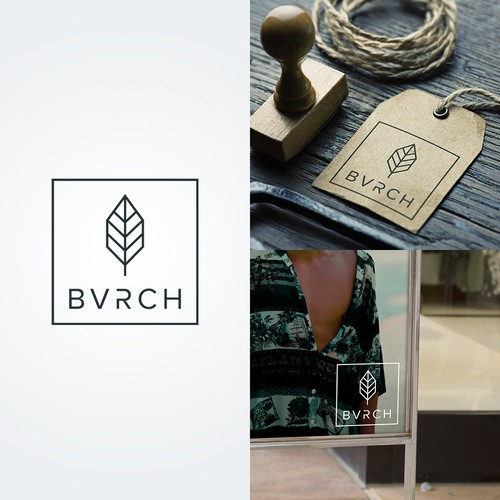 Modern and minimalist logo for BVRCH