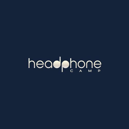 Logo concept for online headphones shop.