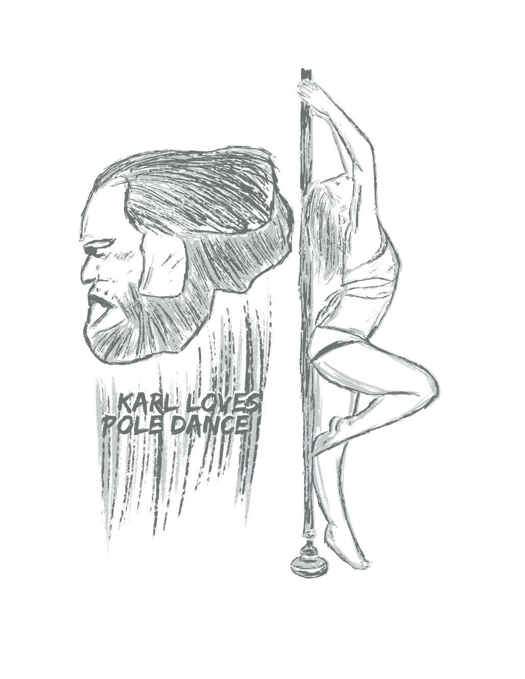 Make a Pole Dance Design 4 our Shirts