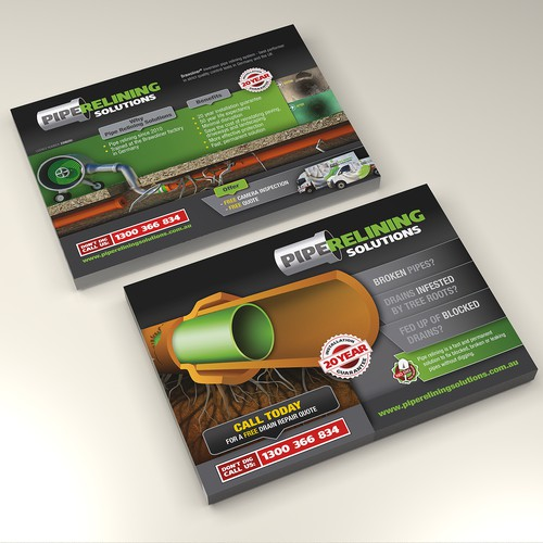 Pipe Relining Solutions Flyer