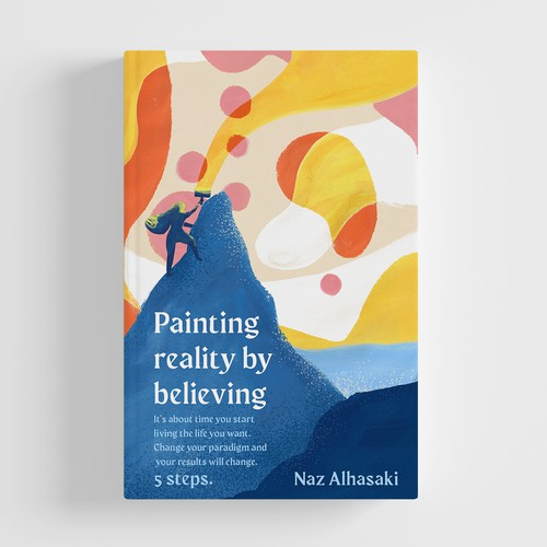 Painting reality by believing book cover