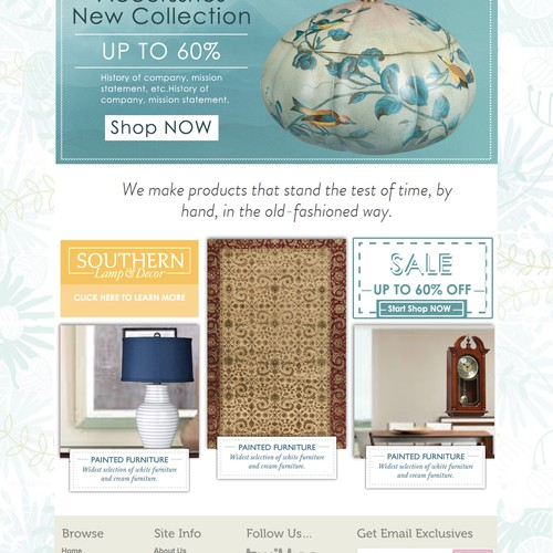 Ecommerce site for Home Decor items