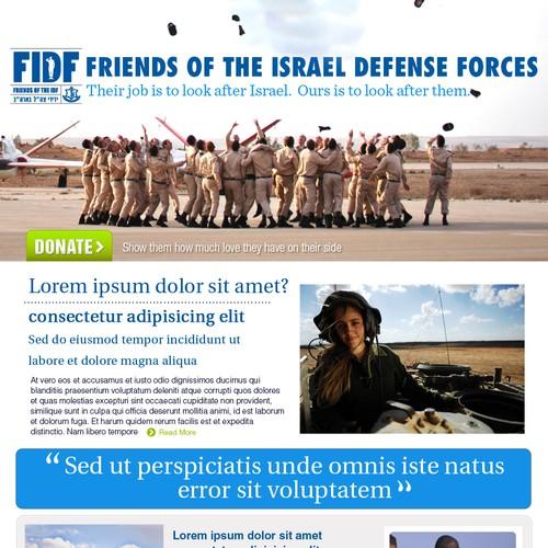 FIDF Webpage Design