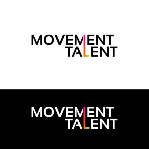 Movement Talent Logo Design