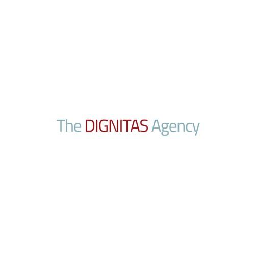 Wordmark Logo for The Dignitas Agency
