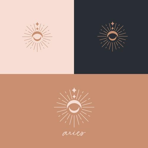 Logo Design   Celestial Logo Concept