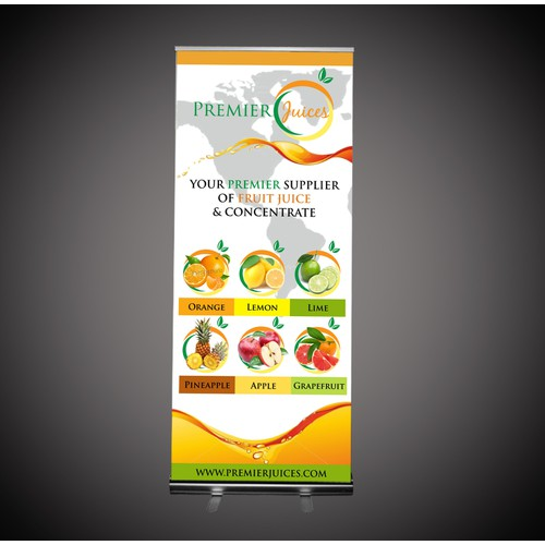 Premier Juices Trade Banner