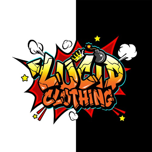 Lucid Clothing Graffiti Logo