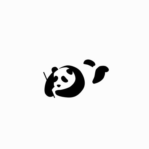 Logo concept for Panda text editor