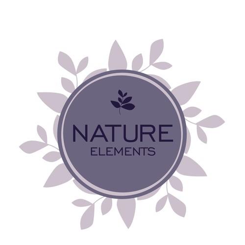 logo concept for nature elements
