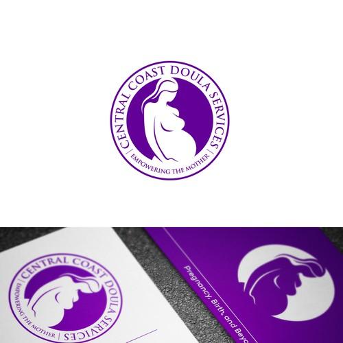 Logo concept for Central Coast Doula Services