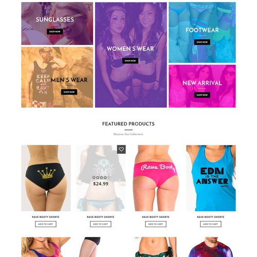 Create new Website for eModa.com - EDM eCommerce Site