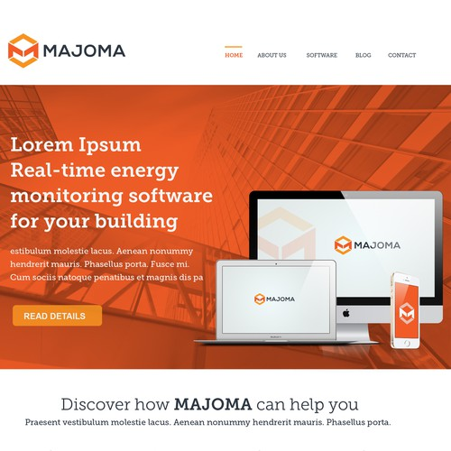 MAJOMA web page design contest!