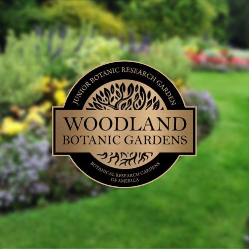 Botanical Garden Plaque