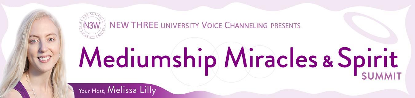 Summit Banner Design for Mediumship, Miracles & Spirit