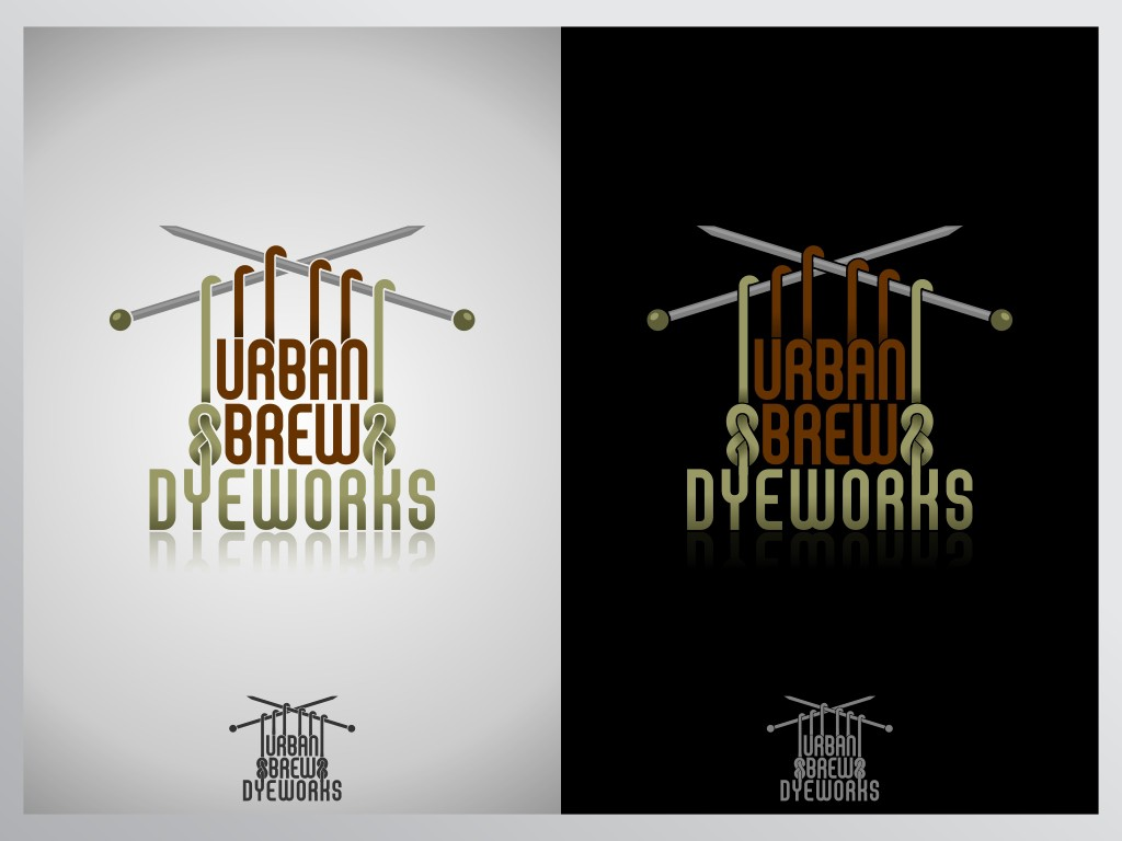 logo for Urban Brew Dyeworks