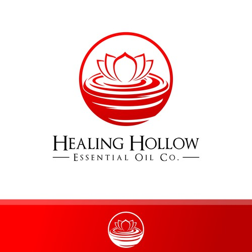 Natural Logo for Healing Hollow