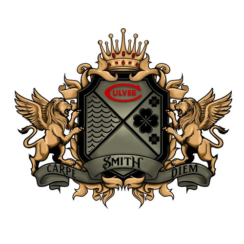 Smith Family Crest Tattoo