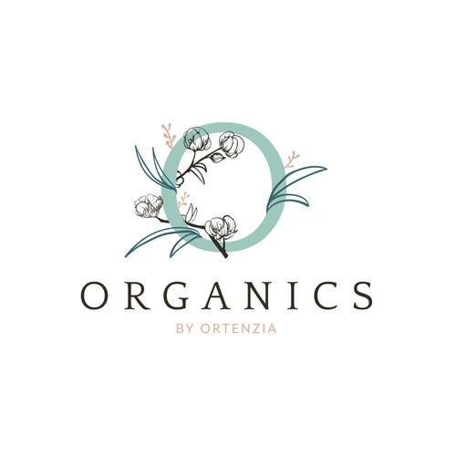Logo design for organic fashion brand