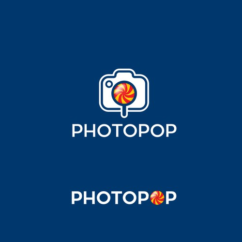 Logo concept for Photopop