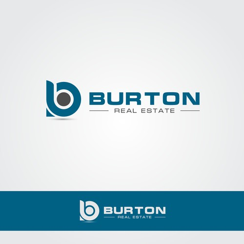 Create a clean and creative Real Estate Investment logo for Burton Real Estate.