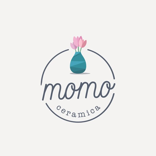 Sophisticated Organic Logo for Ceramic Designer