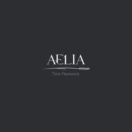 Simple Elegant Logo for AELIA