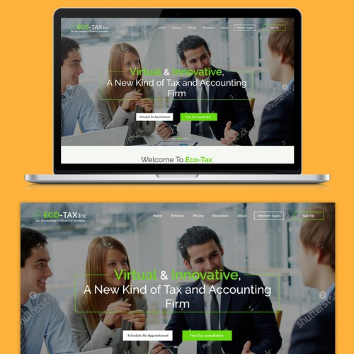 Nice and Simple Corporate website
