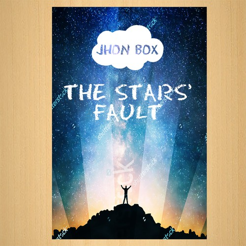 Book Cover Design for The Stars' Fault - Go Nuts!