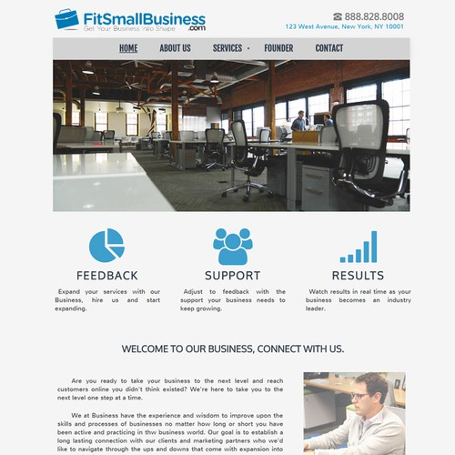 WEB SITE DESIGN - Fit Small Business