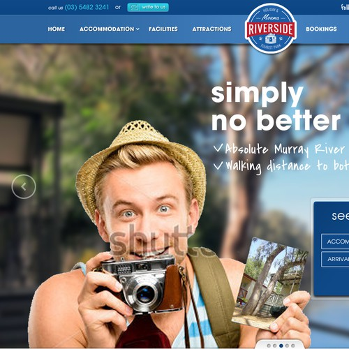 Riverside Holiday Park website