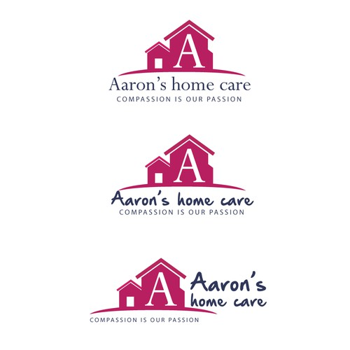 logo concept Aaron's Home Care
